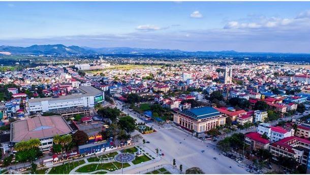 Một góc thành phố Thái Nguyên.