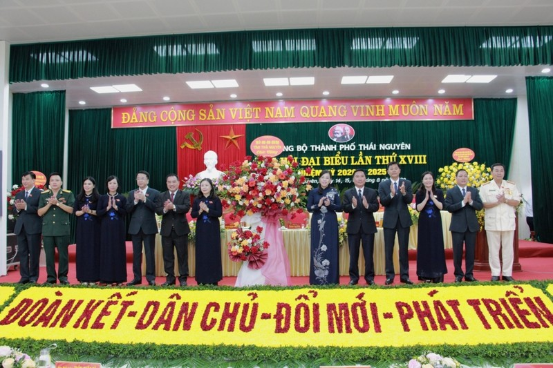 Đại hội Đảng bộ TP Thái Nguyên đã hoàn thành chương trình Đại hội đề ra