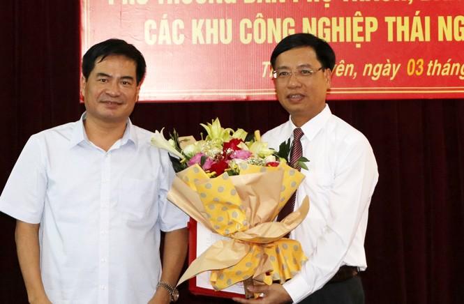 Thái Nguyên: Điều động, bổ nhiệm Trưởng Ban Quản lý Khu Công nghiệp có đúng quy định?