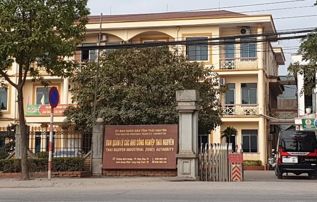 Trụ sở BQLCKCN Thái Nguyên đóng trên địa bàn TP. Sông Công.
