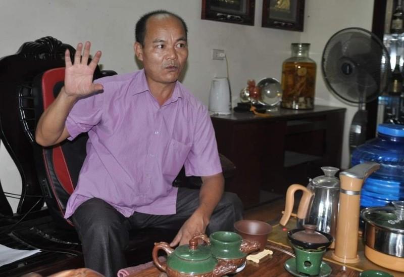 Ông Trần Văn Hậu kiến nghị về những bất thường khiến doanh nghiệp của ông lâm vào đường cùng.