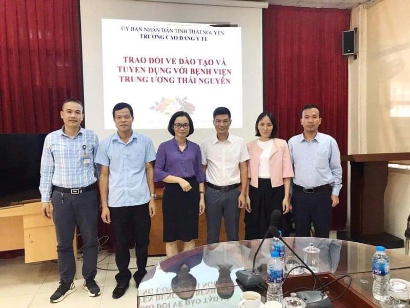 Bệnh viện Trung ương Thái Nguyên hợp tác với Trường Cao đẳng Y tế Thái Nguyên để đào tạo và cung cấp nguồn nhân lực
