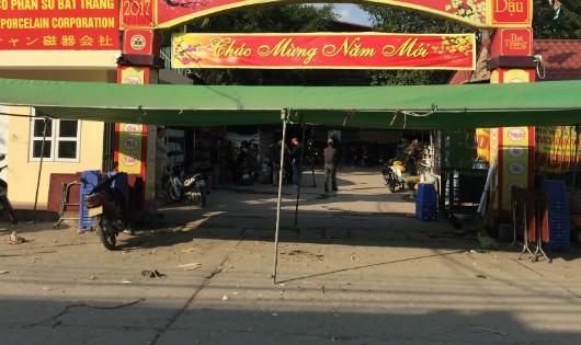 Chợ gốm Bát Tràng đã được mở cửa trở lại