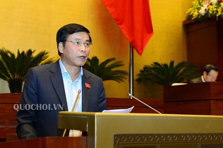 Tổng Thư ký Nguyễn Hạnh phúc trình bày báo cáo