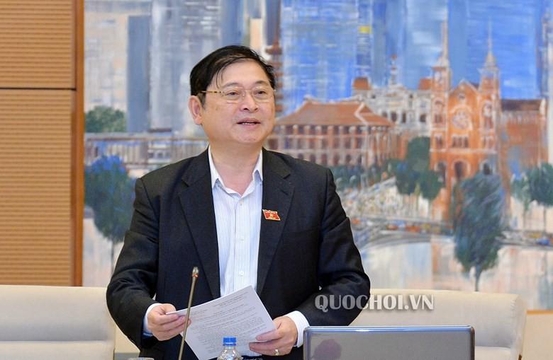 Chủ nhiệm Ủy ban Khoa học, Công nghệ, và môi trường của Quốc hội Phan Xuân Dũng