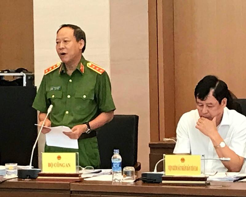 Thượng tướng Lê Quý Vương, Thứ trưởng Bộ Công an thông tin