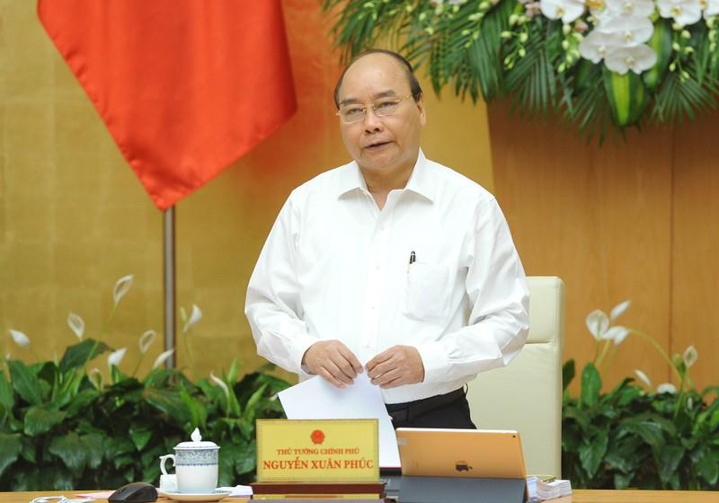 Thủ tướng Chính phủ Nguyễn Xuân Phúc chủ trì phiên họp