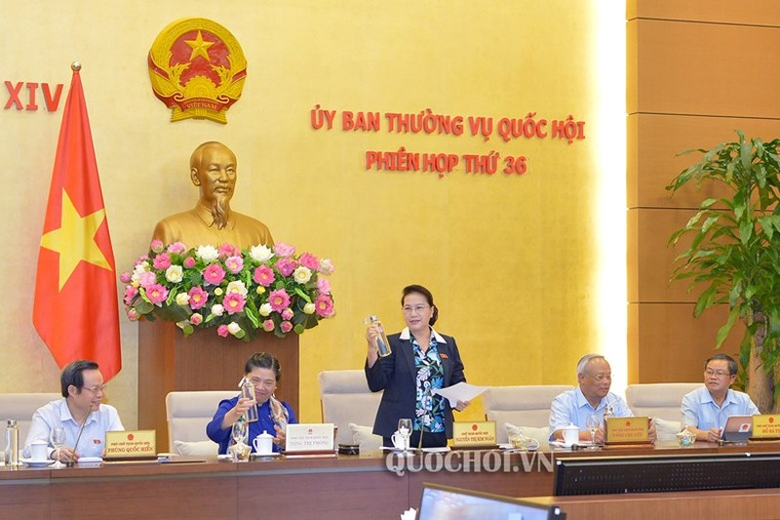 Chủ tịch Quốc hội Nguyễn Thị Kim Ngân biểu dương Văn phòng Quốc hội