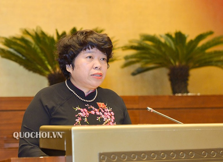 Chủ nhiệm Ủy ban về các vấn đề Xã hội của Quốc hội Nguyễn Thúy Anh.