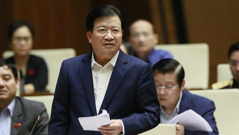 Phó Thủ tướng Trịnh Đình Dũng phát biểu