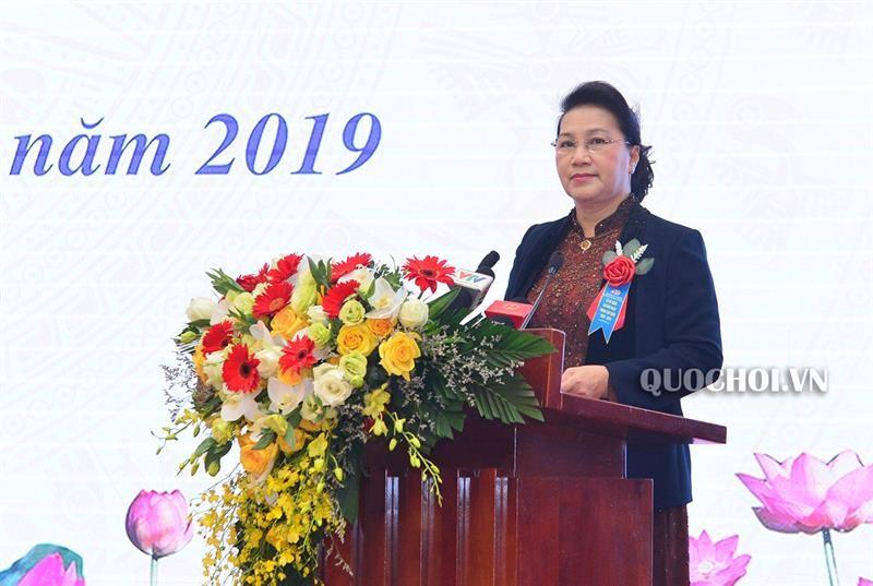 Chủ tịch Quốc hội dự Lễ kỷ niệm 60 năm thành lập Viện Khoa học thủy lợi
