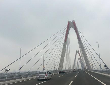 Khánh thành cầu Nhật Tân, đường Võ Nguyên Giáp