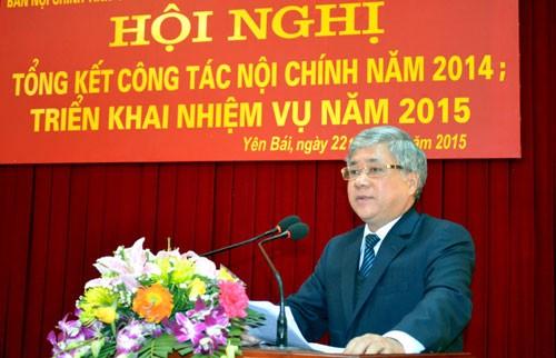 Ông Đỗ Văn Chiến, Ủy viên Trung ương Đảng, nguyên Bí thư Tỉnh ủy Yên Bái giữ chức Phó Chủ nhiệm Ủy ban Dân tộc.