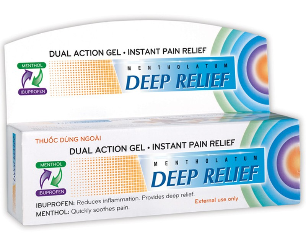 Sản phẩm thuốc Deep Relife do Công ty TNHH Rohto Mentholatum VN sản xuất và đăng ký.