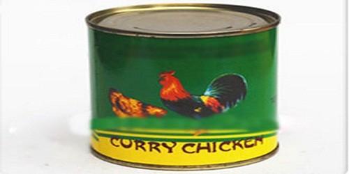 Tiêu hủy sản phẩm Chicken Curry chứa chất dẻo có màu