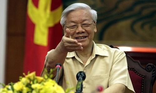 Tổng bí thư Nguyễn Phú Trọng. Ảnh: AP