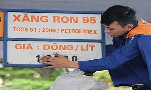 Giá xăng tiếp tục tăng hơn 500 đồng.