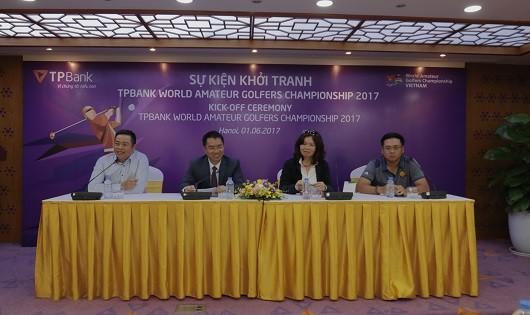 Chính thức khởi động TPBank World Amateur Golfers Championship 2017