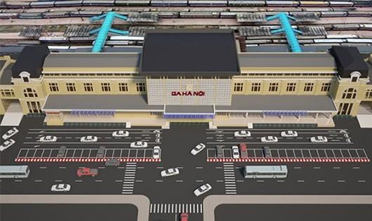 Đề xuất xây cao ốc 70 tầng khu ga Hà Nội sẽ gây phá vỡ quy hoạch?