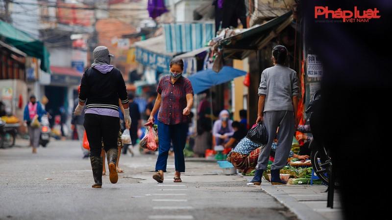 Hà Nội: Độc đáo sáng kiến đảm bảo an toàn cho người dân đi chợ