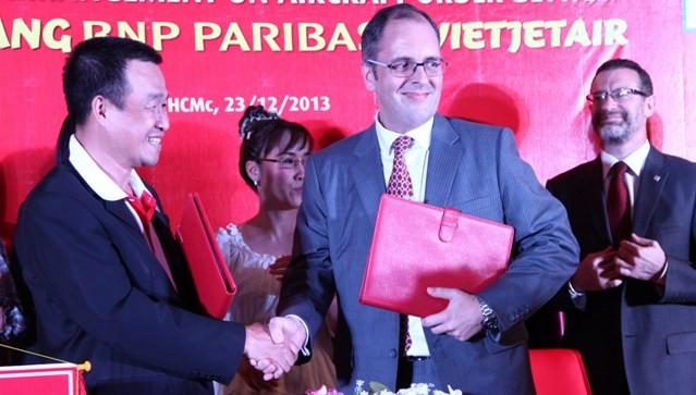 VietJetAir chỉ định BNP Paribas thu xếp tài chính mua máy bay