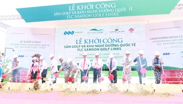 Khởi công dự án resort và sân golf ven biển dài nhất Việt Nam