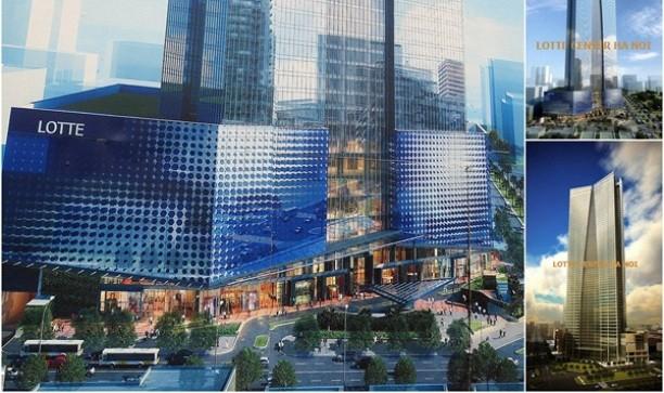 Công bố khai trương Lotte Center Hà Nội
