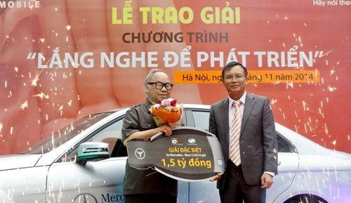 Viettel tặng xe Mercedes cho khách hàng góp ý về sản phẩm dịch vụ