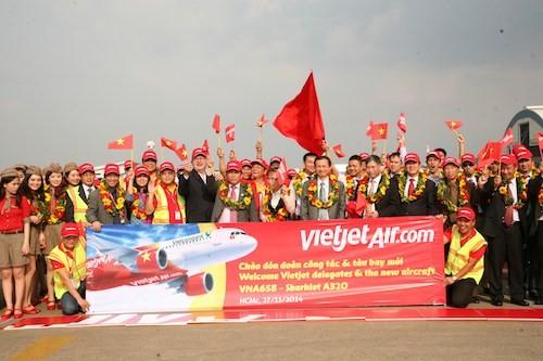 Vietjet chào đón tàu bay mới VN-A658