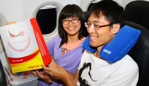 Vietjet bay hàng ngày chặng TP.HCM – Đài Bắc