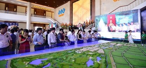 Khu du lịch nghỉ dưỡng sinh thái FLC Sầm Sơn chính thức đi vào hoạt động
