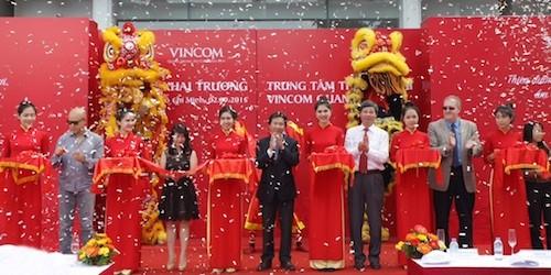 Khai trương TTTM Vincom Quang Trung - TP. Hồ Chí Minh