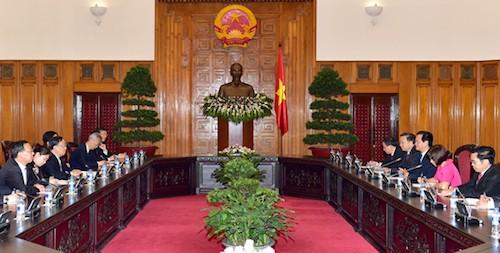 Thủ tướng Nguyễn Tấn Dũng tiếp Bộ trưởng An ninh quốc gia Trung Quốc