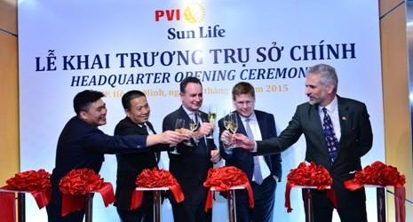 Thay đổi trụ sở chính, PVI Sun Life khẳng định tầm cao mới
