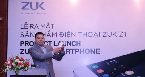 Điện thoại pin khủng ZUK Z1 được bán ở Việt Nam
