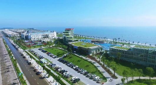 Quần thể FLC Samson Beach & Golf Resort đang là điểm đến của nhiều khách hàng MICE