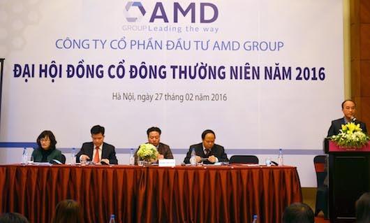 AMD Group tăng vốn điều lệ lên 624 tỷ đồng