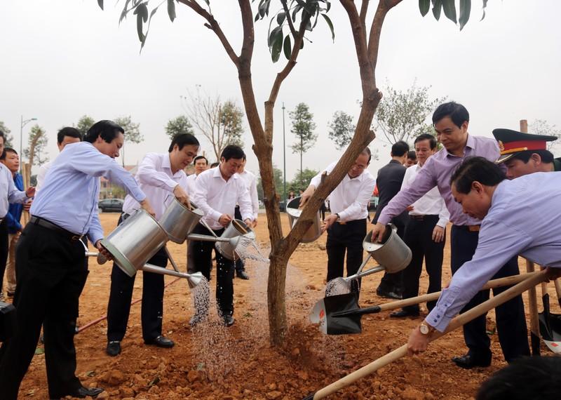 Phú Thọ phát động tết trồng cây xuân Kỷ Hợi 2019