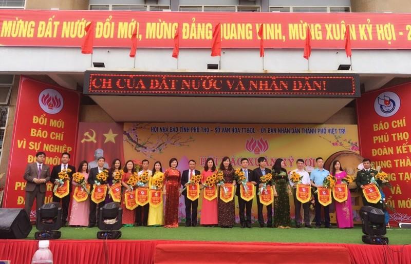 Khai mạc Hội Báo xuân tỉnh Phú Thọ:  Báo Pháp luật Việt Nam cuốn hút độc giả  