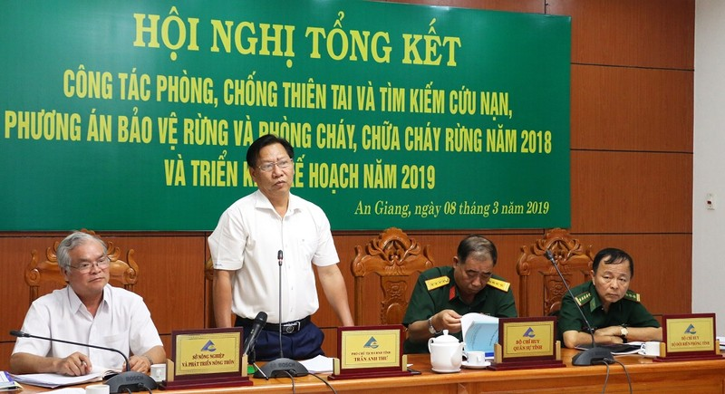 An Giang: Tích cực triển khai phòng, chữa cháy rừng mùa khô 2019