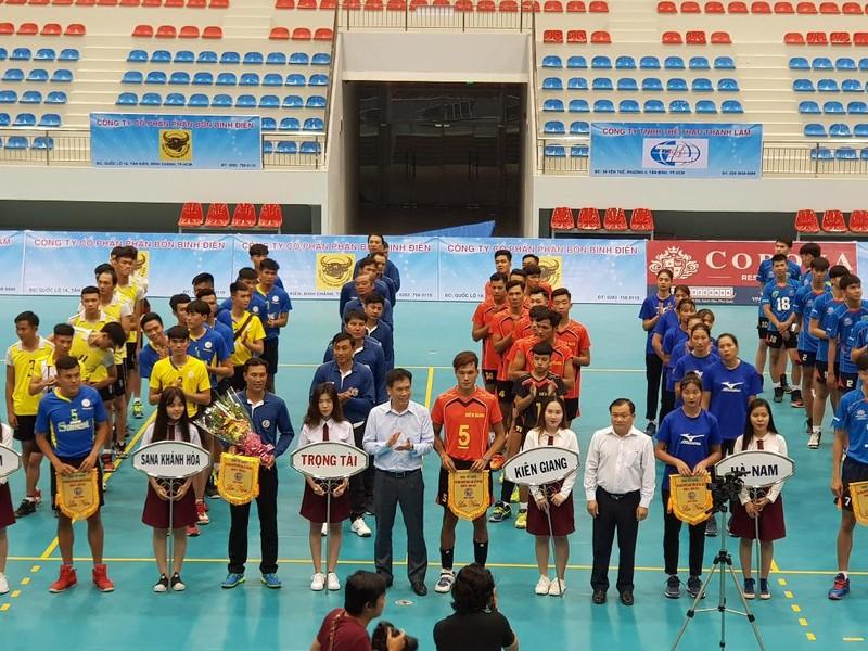 Khai mạc Giải bóng chuyền hạng A toàn quốc tại Kiên Giang