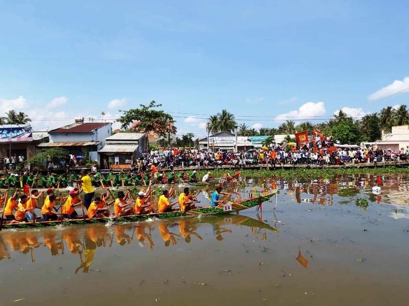 Khai mạc giải đua ghe ngo mở rộng tỉnh Bạc Liêu năm 2019