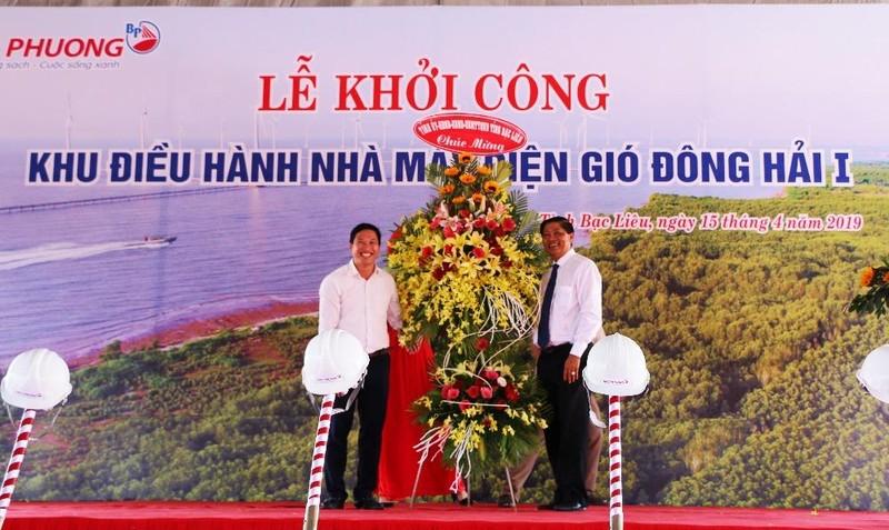 Bạc Liêu khởi công xây dựng nhà máy điện gió Đông Hải I với tổng chi phí gần 2.500 tỷ đồng