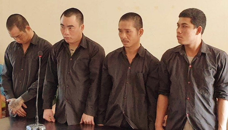 Buôn ma túy, 4 bị cáo chia nhau 30 năm tù