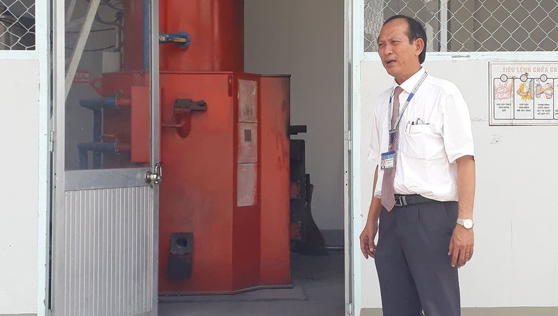 Lò xử lý rác thải y tế của Bệnh viện Sản - Nhi Cà Mau