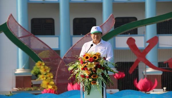 Phó Thủ tướng Chính phủ Trịnh Đình Dũng phát biểu tại Lễ phát động
