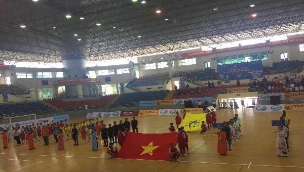 Khai mạc vòng loại bảng 3 Giải bóng đá Quốc gia dành cho trẻ em có hoàn cảnh đặc biệt
