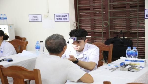 Phú Thọ: Khám bệnh, cấp phát thuốc miễn phí tri ân ngày Thương binh liệt sĩ 27/7