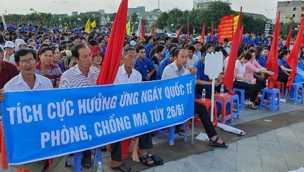 Kiên Giang hưởng ứng Tháng hành động phòng, chống ma túy, Ngày Quốc tế và Ngày toàn dân phòng chống ma túy