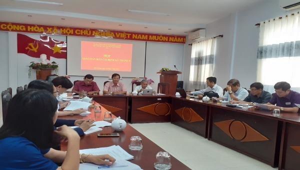 Kiên Giang họp giao ban báo chí định kỳ tháng 8/2019